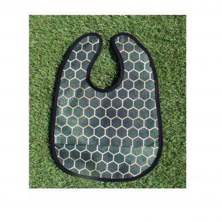 śliniaczek zielony plaster miodu