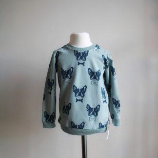 bluza w buldożki
