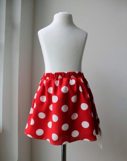 spódniczka w grochy retro vintage